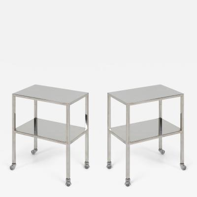 Philippe Starck Industrial Chrome Trolley by Philippe Starck 1990s