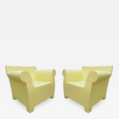 Philippe Starck Pair Of Philippe Starck Bubble Chairs