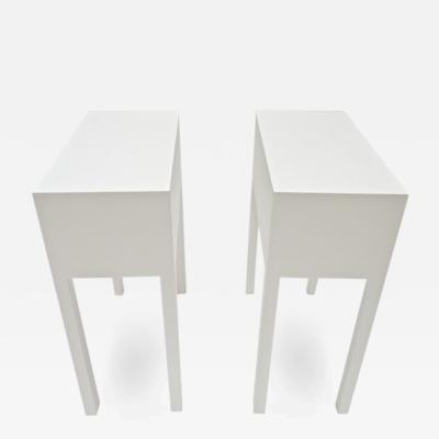 Philippe Starck Philippe Starck White Side Table