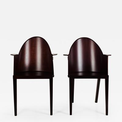 Philippe Starck Rare Pair of Philippe Starck Armchairs from the Royalton Hotel NYC
