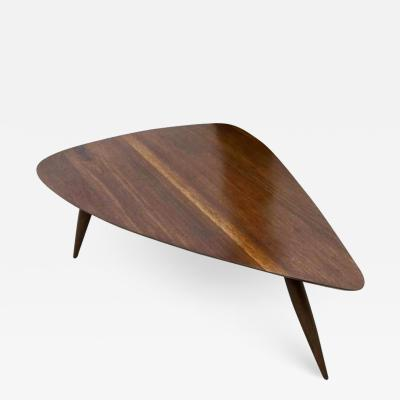 Phillip Lloyd Powell Guitar Pick Cocktail Table In Walnut