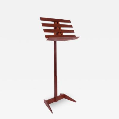 Phillip Lloyd Powell Phillip Lloyd Powell Craft Movement Adjustable Music Stand in Walnut