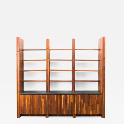 Phillip Lloyd Powell Phillip Lloyd Powell Custom Cabinet with Shelves USA 1960s