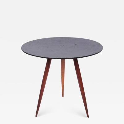 Phillip Lloyd Powell Phillip Lloyd Powell Slate Walnut Occasional Table 1960