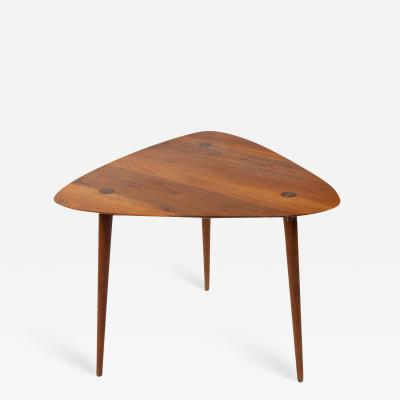 Phillip Lloyd Powell Triangular Side Table