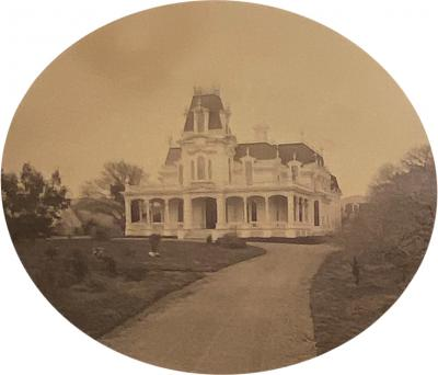 Photograph of a Victorian House Circa 1870