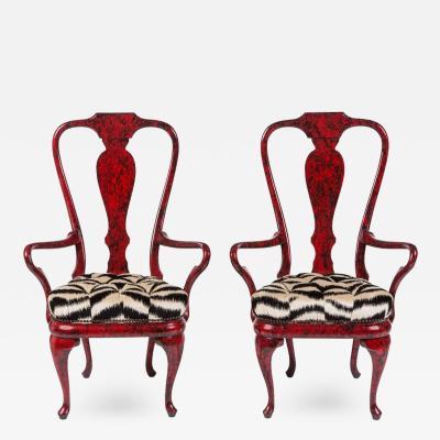 Phyllis Morris Fantastic Pair of Armchairs by Phyllis Morris