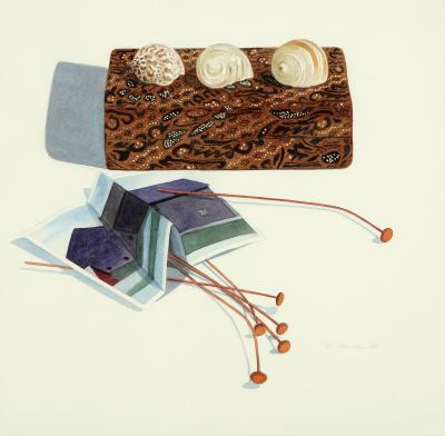 Phyllis Sloane Homage To Georgia O Keeffe