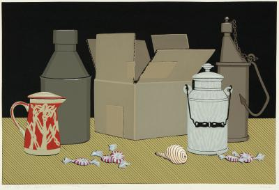 Phyllis Sloane Still Life with Peppermints