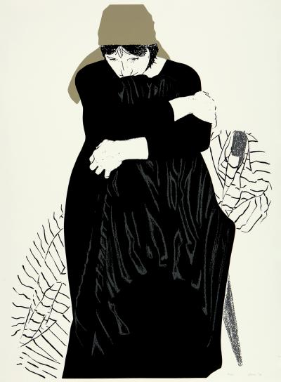 Phyllis Sloane Woman In Black