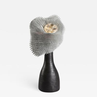 Pia Maria Raeder Sea Anemone Table Light with Black Bronze