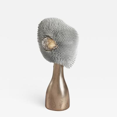 Pia Maria Raeder Sea Anemone Table Light with Golden Bronze