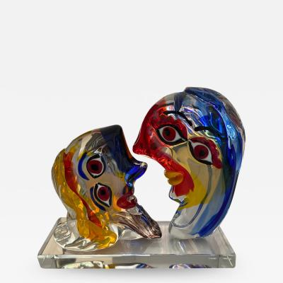 Picasso Homage by Walter Furlan Murano