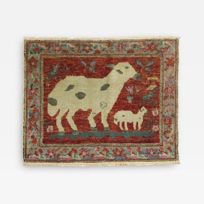 Pictorial Turkish Sheep Rug rug no 31238