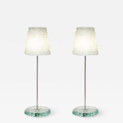 Piecrust lamp large