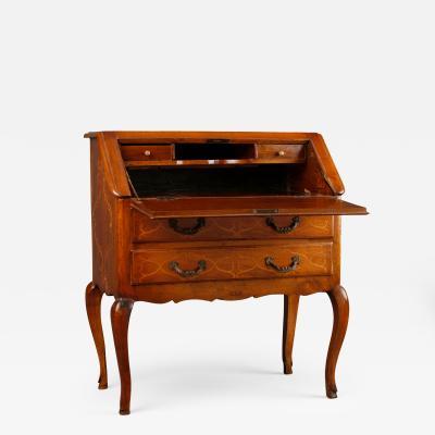 Pied Montise Rococo Slant Front Desk Italian ca 1770