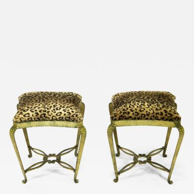 Pier Luigi Colli Pair of stools by Pier Luigi Colli