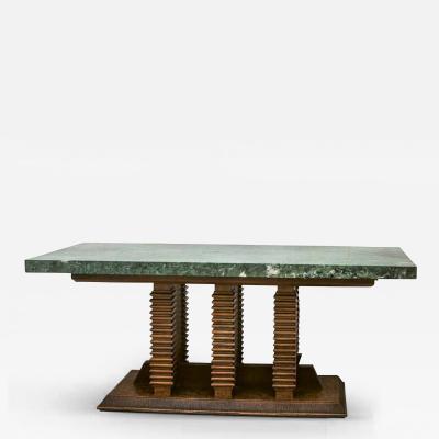 Pierluigi Colli Library Center Table by Pierluigi Colli 1895 1968 Italy ca 1950