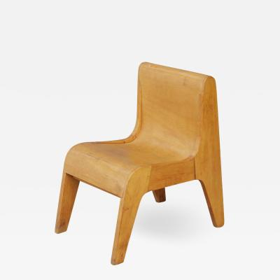 Pierluigi Ghianda Children Italian chair prototype by Pierluigi Ghianda 1960s