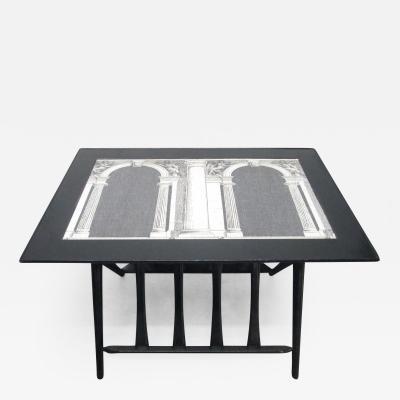 Piero Fornasetti Architettura Table by Piero Fornasetti