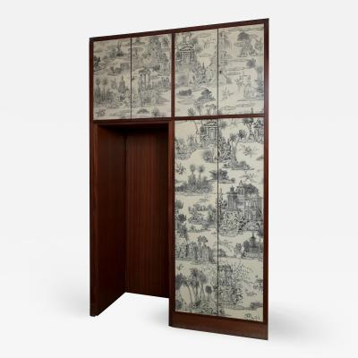 Piero Fornasetti Early 60s One Off Wardrobe by Piero Fornasetti