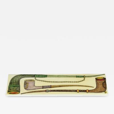 Piero Fornasetti Fornasetti Rectangular Box with Smoking Motif