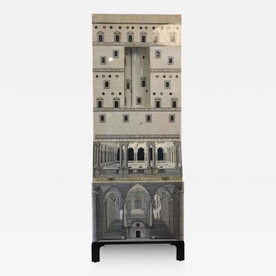 Piero Fornasetti Piero Fornasetti Cabinet Trumeau Architettura Barnaba Edition Italy