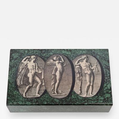 Piero Fornasetti Piero Fornasetti Classical Figures Box c 1950