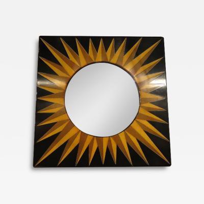 Piero Fornasetti Sunburst Mirror by Fornasetti