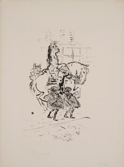 Pierre Bonnard Garde Municipal a Lithograph by Pierre Bonnard 1893