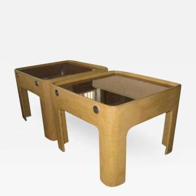 Pierre Cardin End Tables