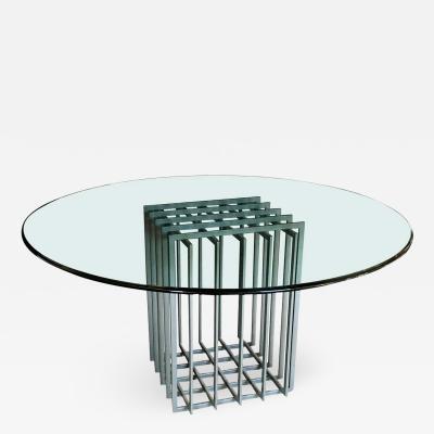 Pierre Cardin Pierre Cardin Grid Cage Dining Table
