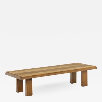 Pierre Chapo Coffee table by Pierre Chapo Circa 1960 1970