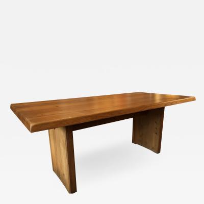 Pierre Chapo Elm wood Dining Table model T14c