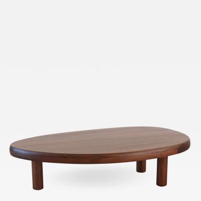 Pierre Chapo FRENCH MAHOGANY COFFEE TABLE