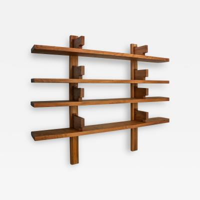 Pierre Chapo Pierre Chapo B17B Bookshelf in Solid Elm France 1960s