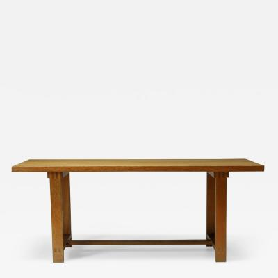Pierre Chapo Pierre Chapo Dining Table French Mid Century design 1960s