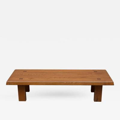 Pierre Chapo Pierre Chapo French Elm Coffee Table