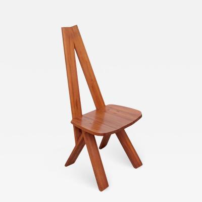 Pierre Chapo Pierre Chapo S45 Chair in Solid Elm