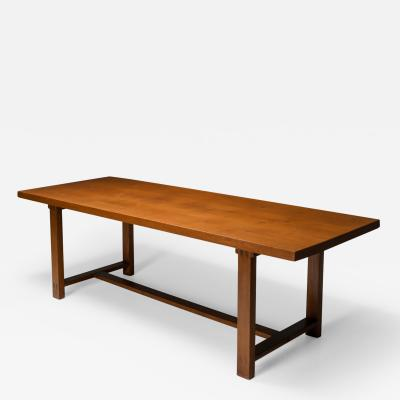 Pierre Chapo Pierre Chapo T01D Dining Table in Solid Elm 1960s