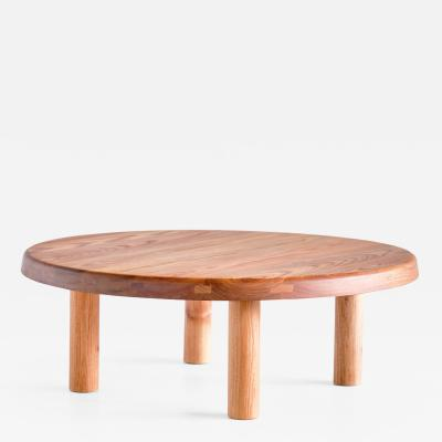 Pierre Chapo Pierre Chapo T02M Coffee Table in Solid Elm Chapo Creation France