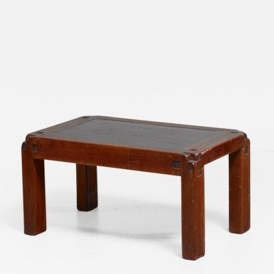 Pierre Chapo Pierre Chapo T18 Side Table with Lava Stone Top