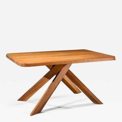 Pierre Chapo Pierre Chapo T21 Dining Table in Solid Elm