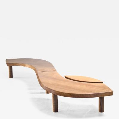 Pierre Chapo Pierre Chapo T22 LOeil coffee table in elm