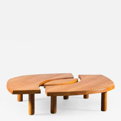 Pierre Chapo Table Oeil Modele T 22 C