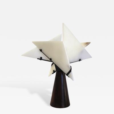 Pierre Chareau Nun Table Lamp by Pierre Chareau