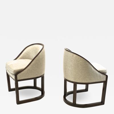 Pierre Chareau Pierre Chareau attributed chicest Art Deco chairs