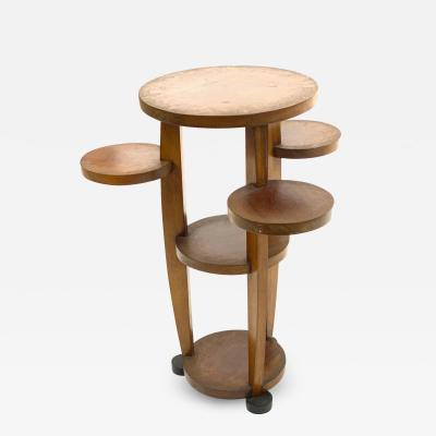 Pierre Chareau Pierre Chareau attributed modernist awesome side table or pedestal