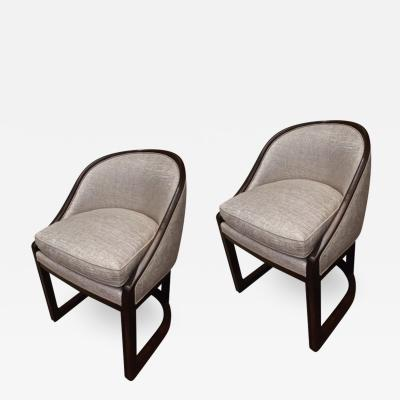 Pierre Chareau Pierre Chareau attributed pair of modernist chairs