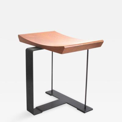 Pierre Chareau Stool Metal Wood